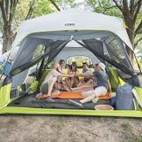 Core 9 Person Instant Cabin Tent - 14' x 9'