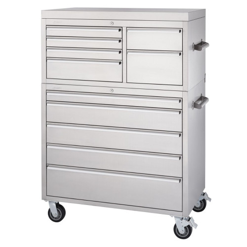RINITY   43 x 25   Stainless Steel Tool Chest Combo
