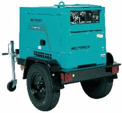 GENERATOR, 10KW MQ TOW BEHIND TLW-300SS