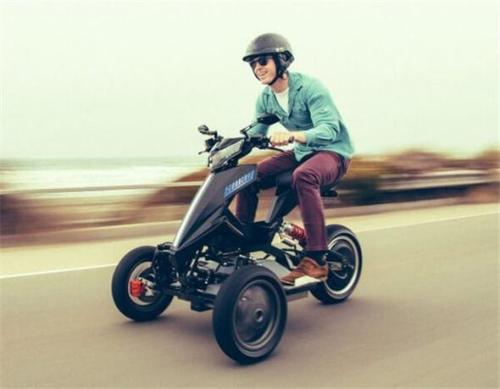 2021 NEWEST Full E Drift Tricycle 3-Wheel Scooter