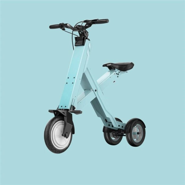 2021 HOT SALE 50KM Foldable Electric Scooter Portable Mobility Scooter Adults electric bicycle