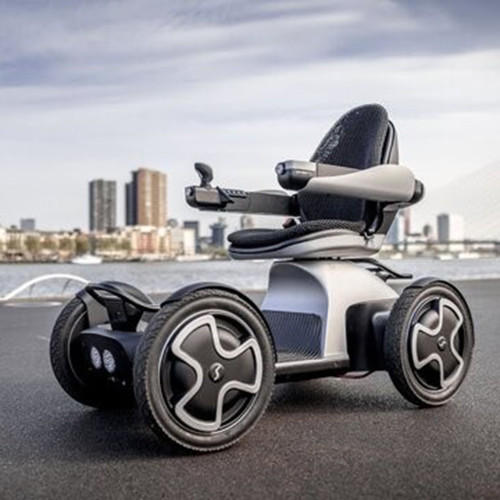Four-wheeled vehicle