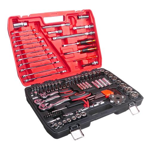 121PCS kit car repair socket set hand tool