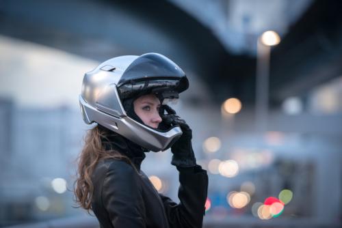 The smart motorcycle helmet
