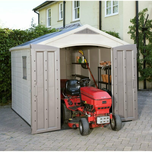 Plastic Tool Shed