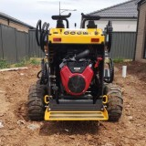 small road construction equipment and tools for Project end