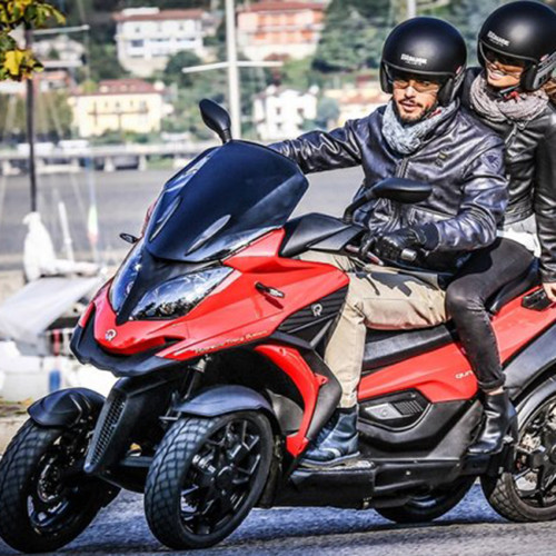 New Version-A Four-Wheel Scooter With Extremely High Safety Performance