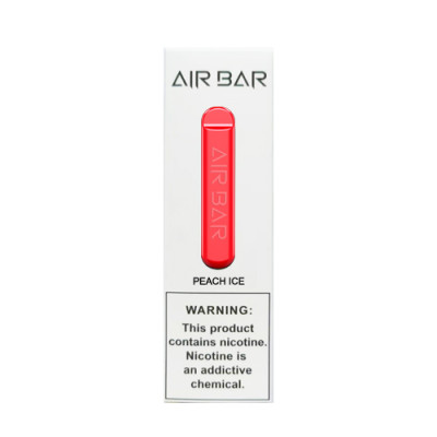 air bar peach ice