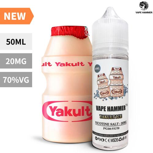 Summer Sale Sweet Salt Nic YAKULT ICE Flavors 50ML E-Liquid