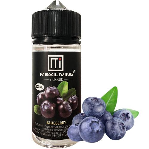 Maxiliving 100ml Vaping Liquid Blueberry E Juice-pg/vg: 50/50