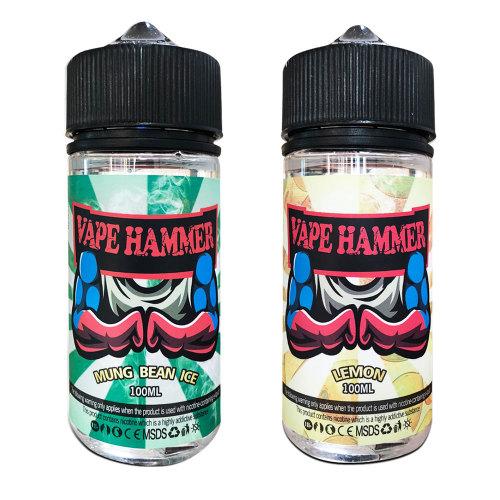 Thick Smoking Liquid Mung Bean & Lemon Vape Juice Pack 2*100ml