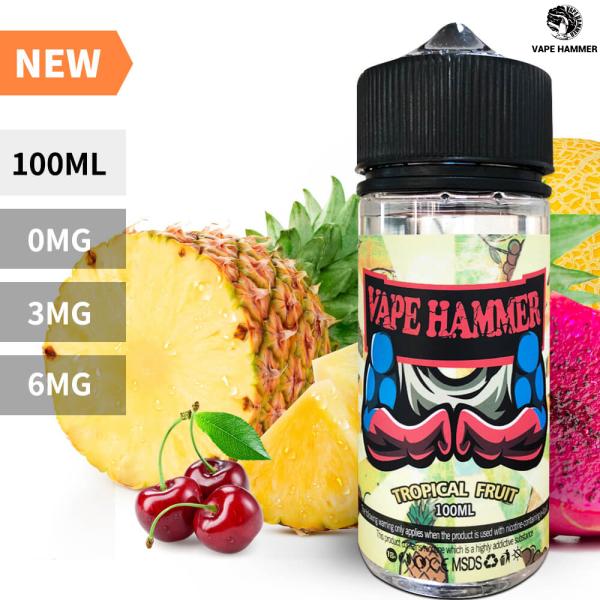 100ml E Liquid Juice Tropical Fruit Flavor Vape Juice