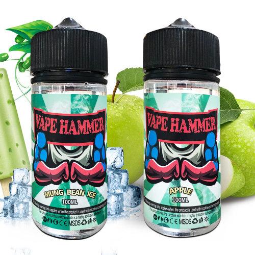 Vaping Liquid Choice Mung Bean And Apple Vape Juice 100ml X2