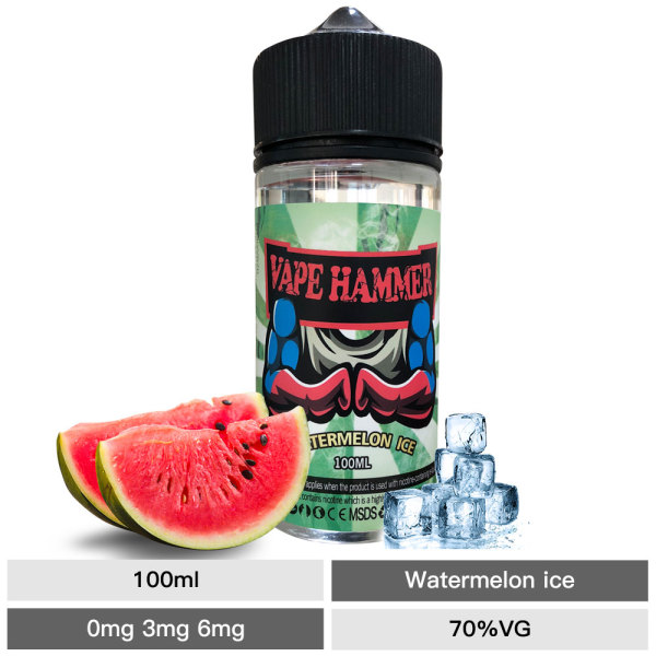 Best Online Vape Juice Watermelon Fruity E Liquid 100ml