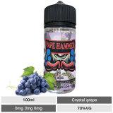 100ml Vape Juice Crystal Grape Vape Juice Flavor E Cig Liquid