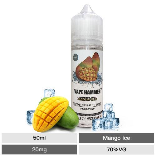 Easy to Use Nic Salt MANGO ICE Flavors 50ML E-Juice
