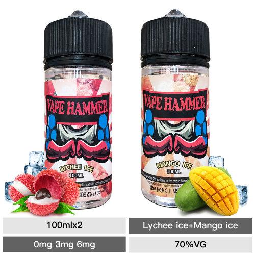 Cheap Smoke 100ml*2 Lychee Ice And Mango E Juice Package