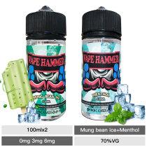 new mung bean ice & menthol e juice 100ml x2