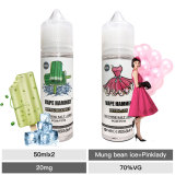 Vaping Gift Nic Juice Bundles Pinklady And Mung Bean E-Liquid 50ml