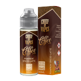 Vape Juice Best Salted Caramel Latte Flavor 50ml 0mg