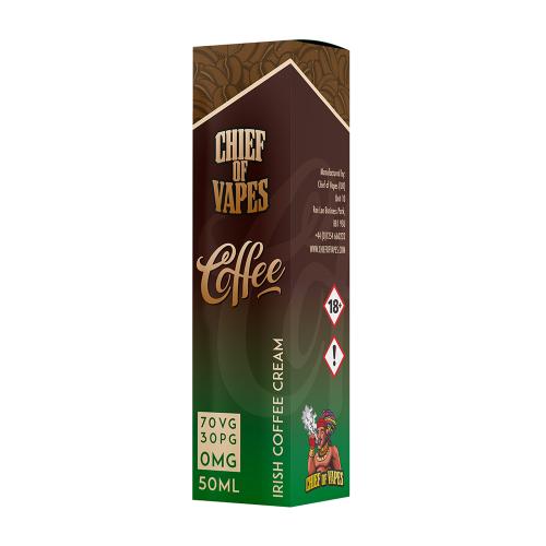 Vape Juice Best Irish Coffee Cream Flavor 50ml 0mg