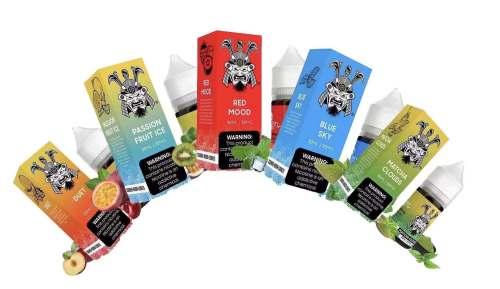 Vape Juice Best SAMURAI Nic Salt E Liquid 30ml