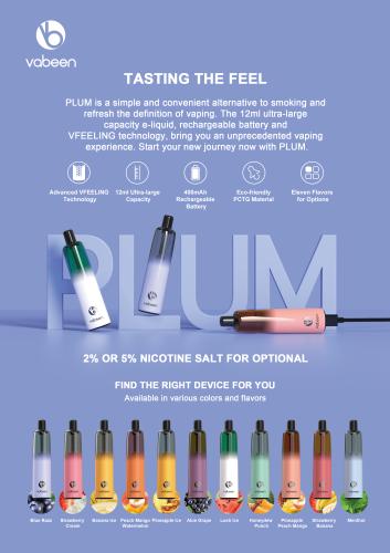 Best Vape Kits Vabeen PLUM Vape Pen| 5000 Puffs