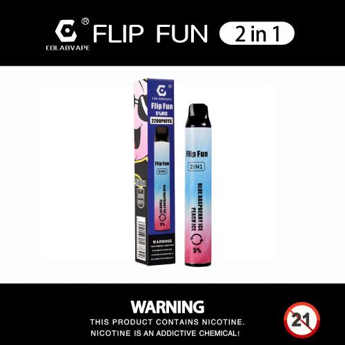 Colab Flip Fun 2 in 1  Disposable Vape Pen