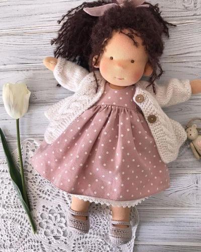 Emma Realistic Toys - Waldorf Doll Dabria