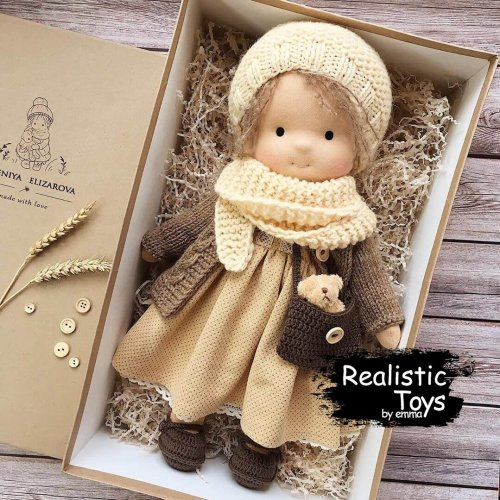 Cute Doll Amber , Best Doll For 1 Year Old