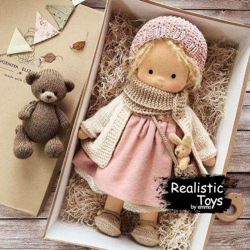 Emma Realistic Toys - Waldorf Doll Sofia