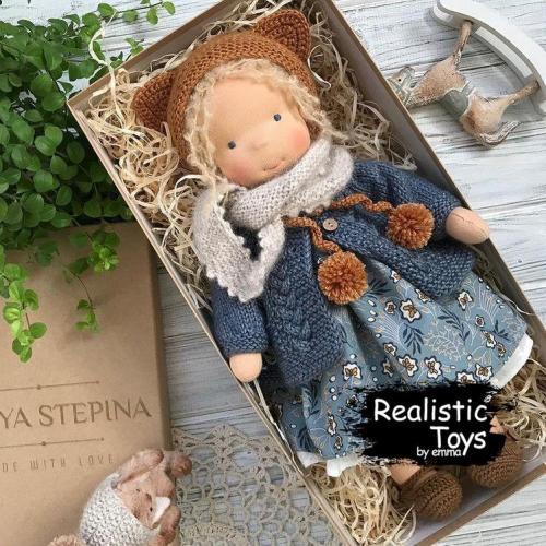 Emma Realistic Toys - Waldorf Doll Aba