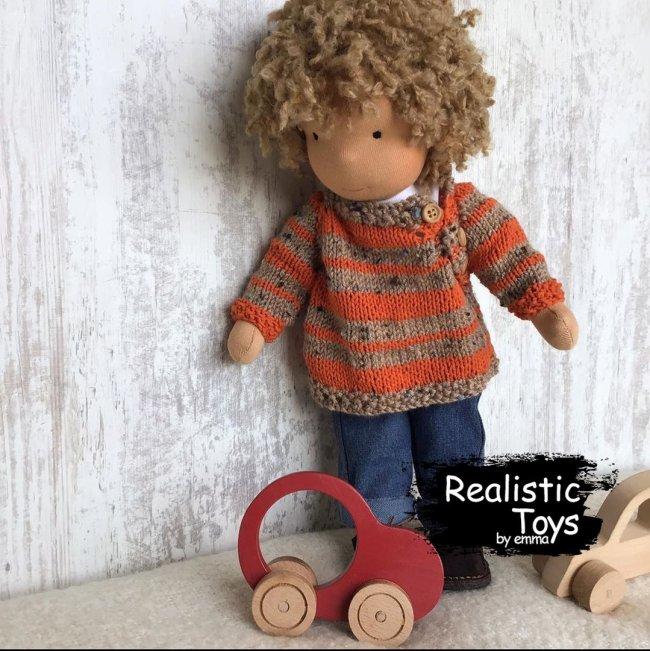Cute Doll Alvin ,Waldorf Steiner Dolls