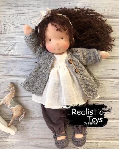 Emma Realistic Toys - Waldorf Doll Rachel