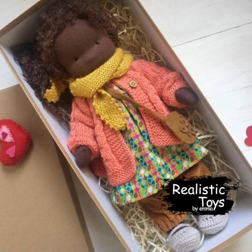 Emma Realistic Toys - Waldorf Doll  Grace