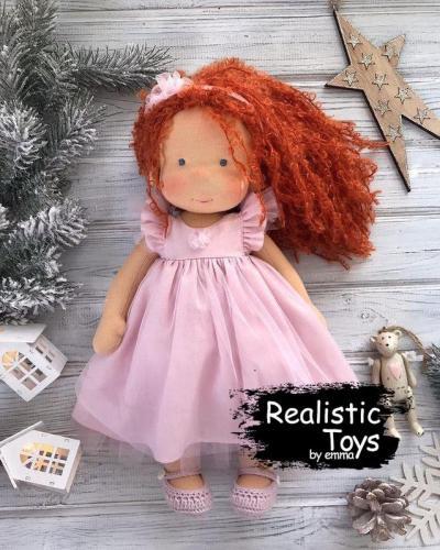 Emma Realistic Toys - Waldorf Doll Princess