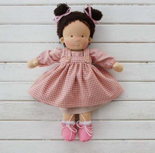 Waldorf Doll Alexia , Stuff For Christmas , Rag Dolls With Removable Clothes