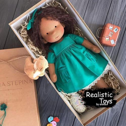 Waldorf Doll Edith , Christmas Present Ideas For Girls ,  Soft Baby Doll
