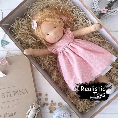 Waldorf Doll Diana , Dolls With Clothes To Change