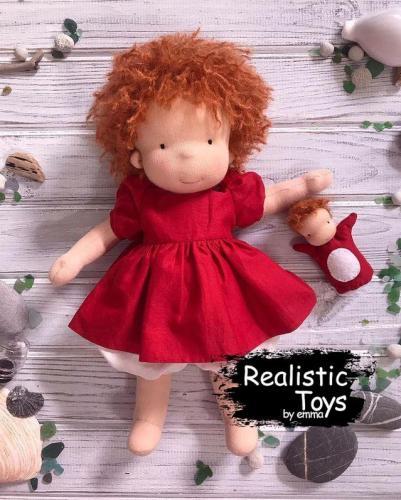 Emma Realistic Toys - Waldorf Doll Kaitlyn