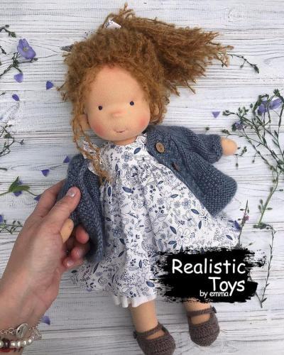 Emma Realistic Toys - Waldorf Doll Xaviera