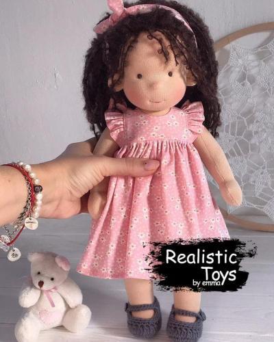 Emma Realistic Toys - Waldorf Doll Caitlin