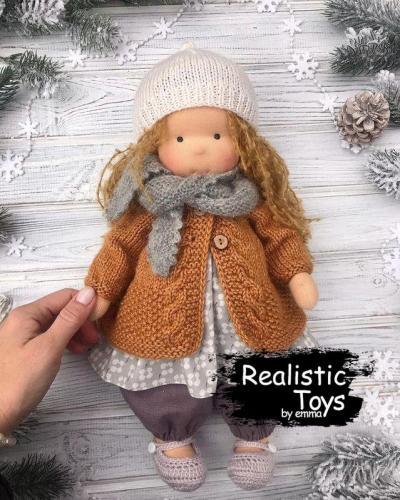 Emma Realistic Toys - Waldorf Doll Hailie