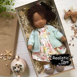 Cute Doll Winni , Cute Dolls For Sale,  Handmade Black Dolls