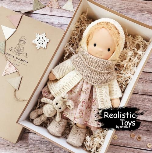 Emma Realistic Toys - Waldorf Doll Faith Camila