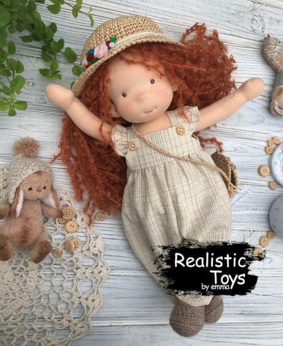 Emma Realistic Toys - Waldorf Doll Aine