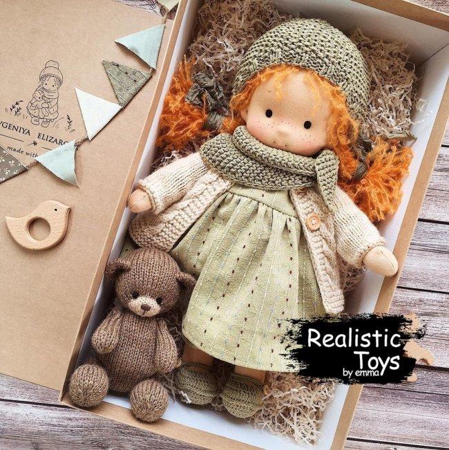 Emma Realistic Toys - Waldorf Doll Lillian