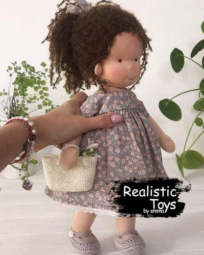 Emma Realistic Toys - Waldorf Doll Jayla