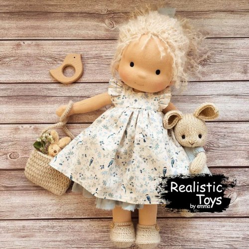 Waldorf Doll Vivienne , Best Gifts For 11 Year Old Girls, Non Toxic Baby Dolls