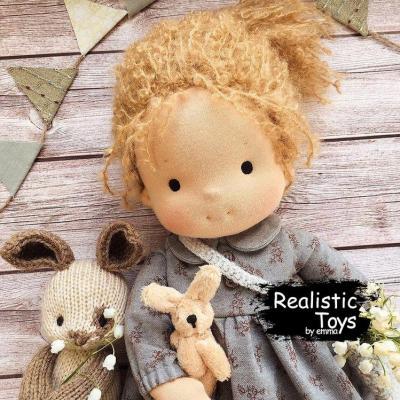 Emma Realistic Toys - Waldorf Doll Aubrey